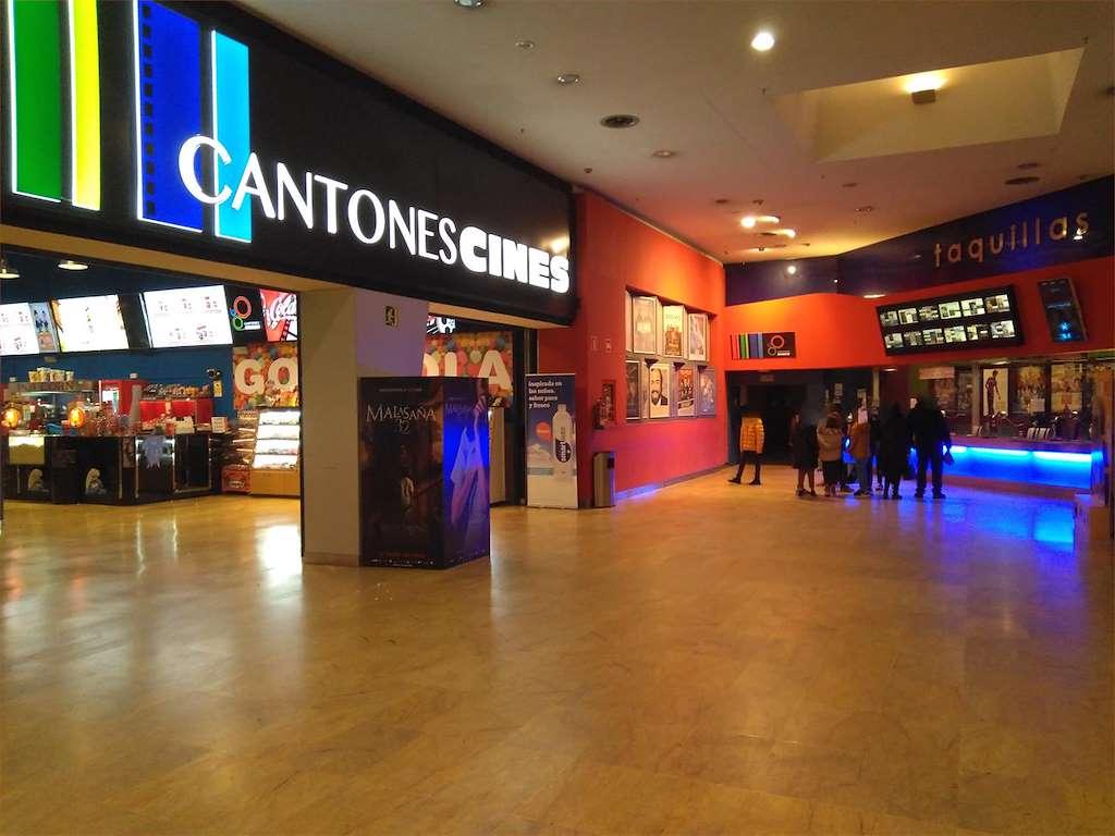 Cartelera Cantones Cines 3D en A Coruña