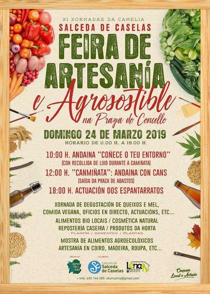 Salceda De Caselas Mapa.Feira De Artesania E Agrosostible En Salceda De Caselas