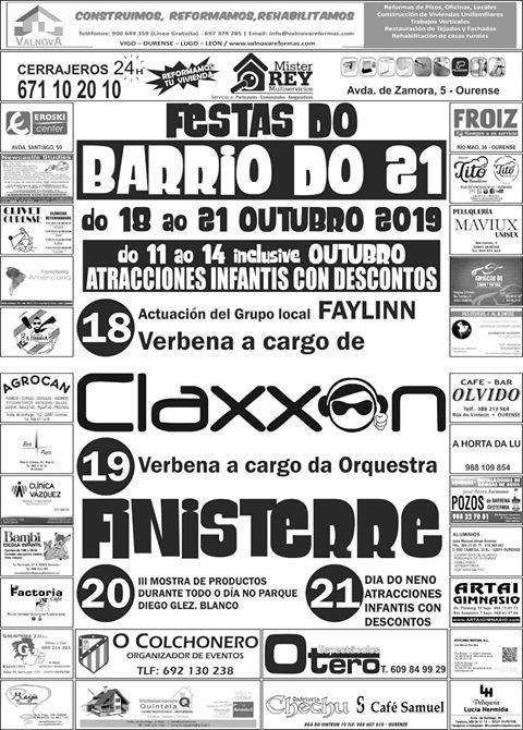 Festas do Barrio do 21 en Ourense