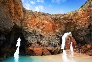 "Playa de ""As Catedrais"""
