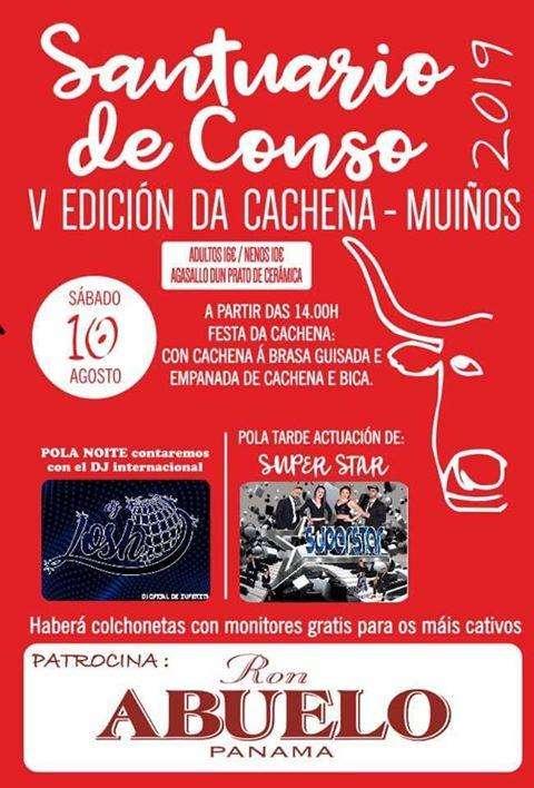 V Festa da Cachena (2019) en Muíños