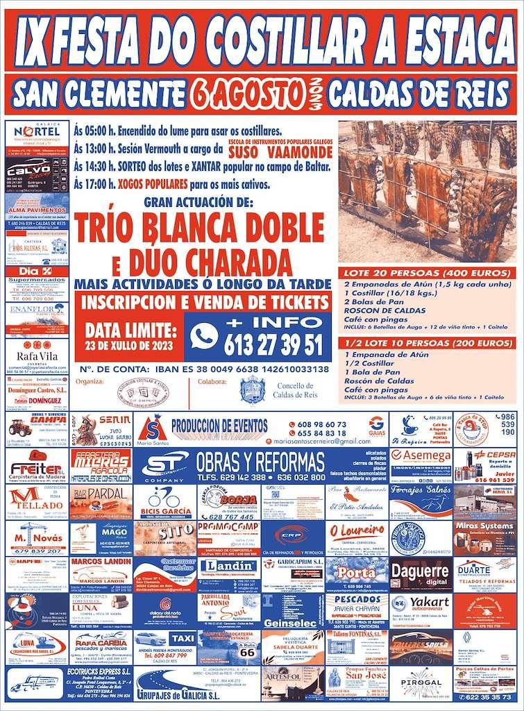 VII Festa do Costillar a Estaca de San Clemente (2019) en Caldas de Reis