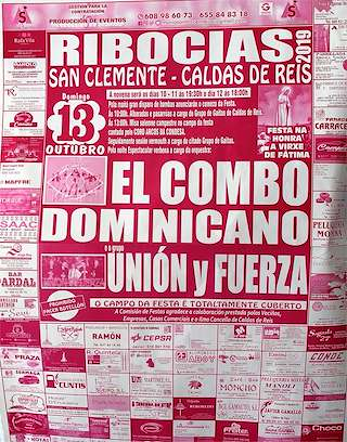Calendario Romerias Gran Canaria 2020.Fiestas En Caldas De Reis Ferias Romerias Y Festivales