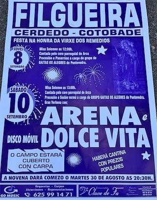 Calendario Romerias Gran Canaria 2020.Fiestas En Cerdedo Cotobade Ferias Romerias Y Festivales