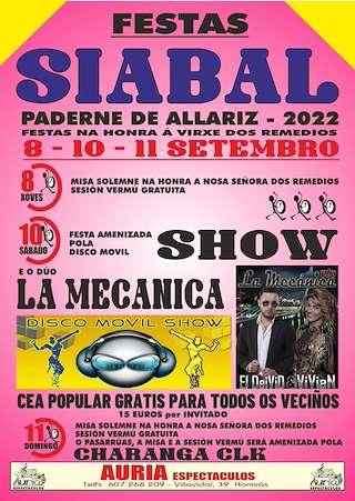 Calendario Romerias Gran Canaria 2020.Fiestas En Paderne De Allariz Ferias Romerias Y Festivales