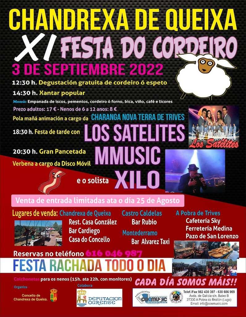 X Festa do Cordeiro (2019) en Chandrexa de Queixa