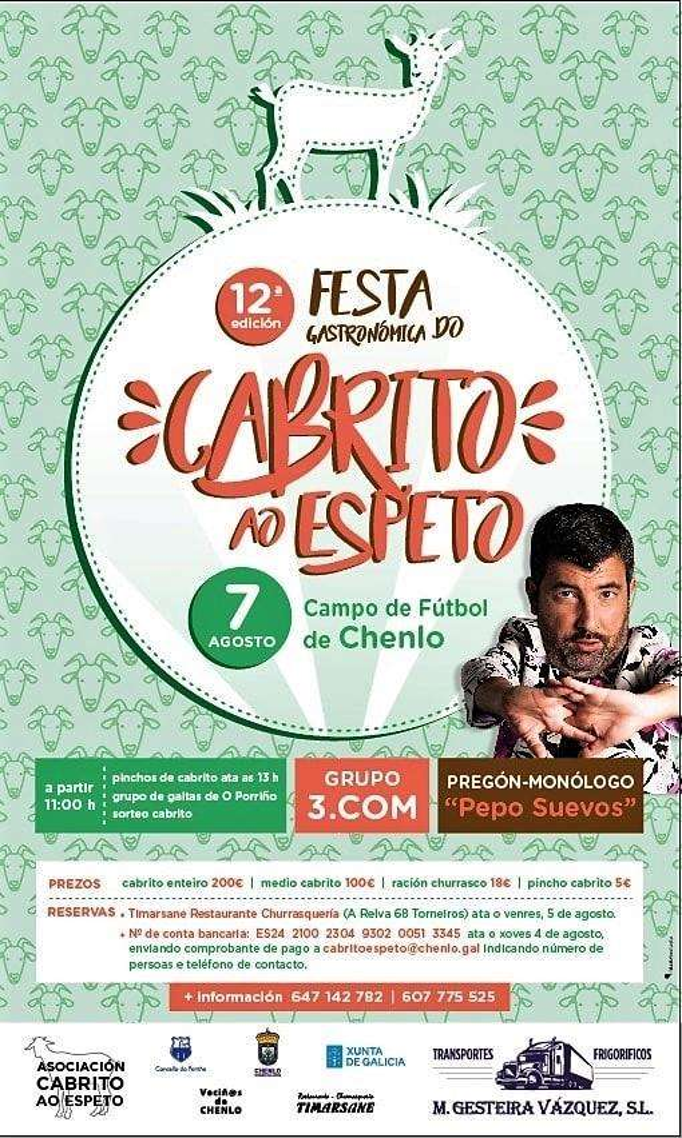 XI Festa do Cabrito ao Espeto (2019) en O Porriño