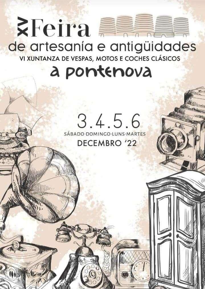 Xii Feira De Artesanía E Antigüidades En A Pontenova