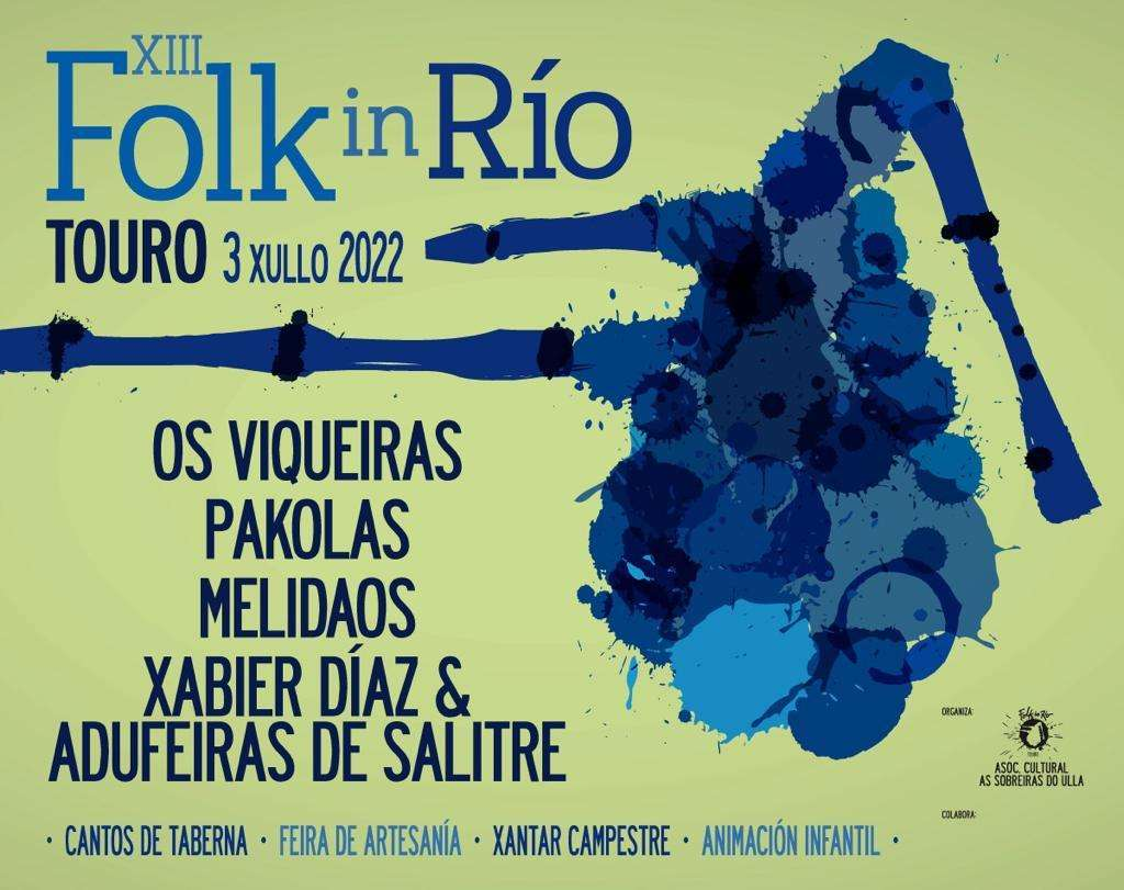 XII Festival Folk in Río en Touro