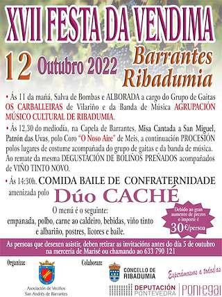 Calendario Romerias Gran Canaria 2020.Fiestas En Ribadumia Ferias Romerias Y Festivales