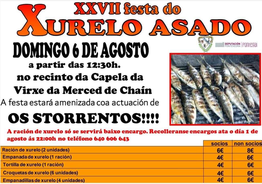 XXIII Festa do Xurelo Asado de Chaín (2019) en Gondomar