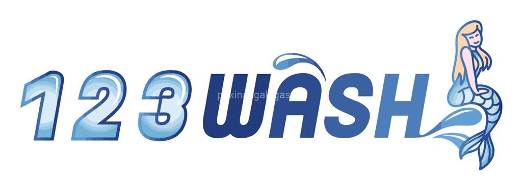 logotipo 123 Wash (Wash-Up) Independencia