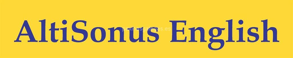 logotipo Altisonus English