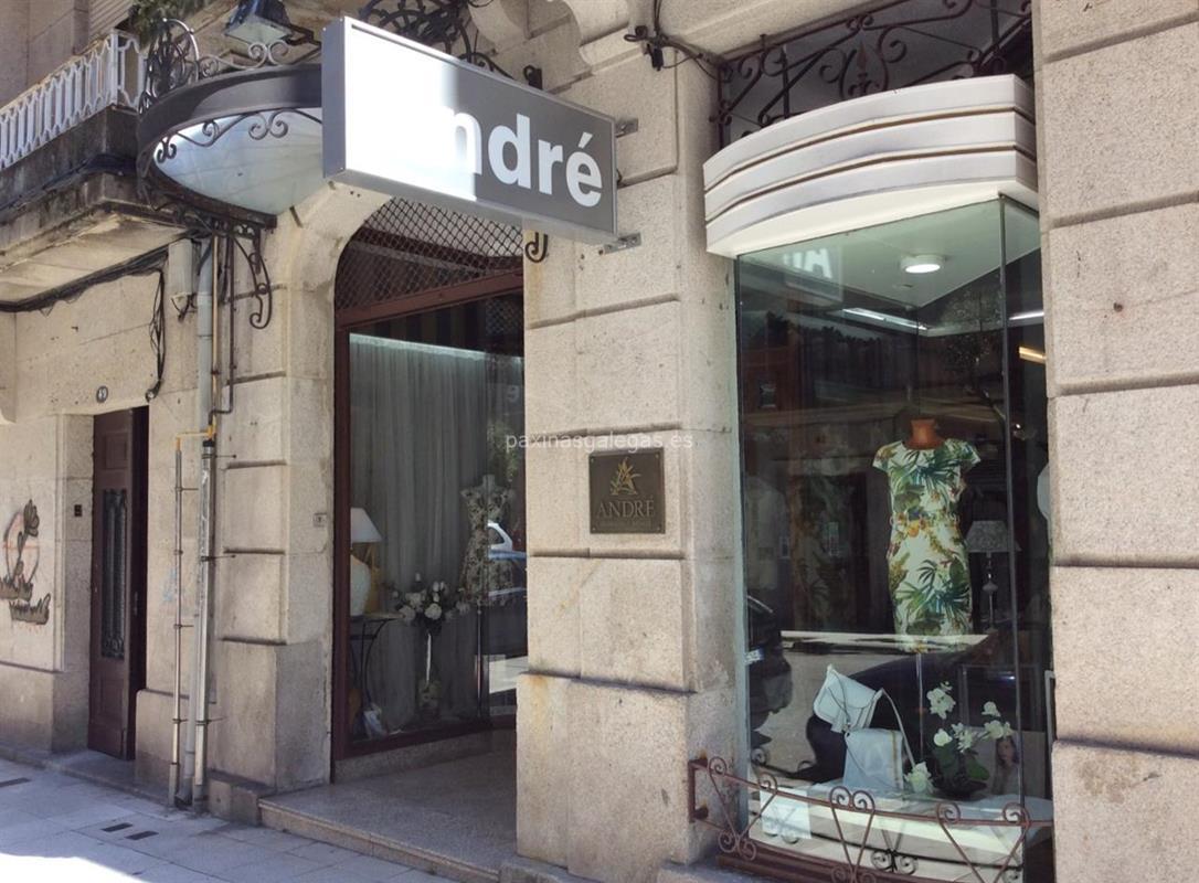 57825e1f553a7d Boutique André. Número de teléfono, calle, horario y más información de  André en Vigo. Moda mujer y complementos.