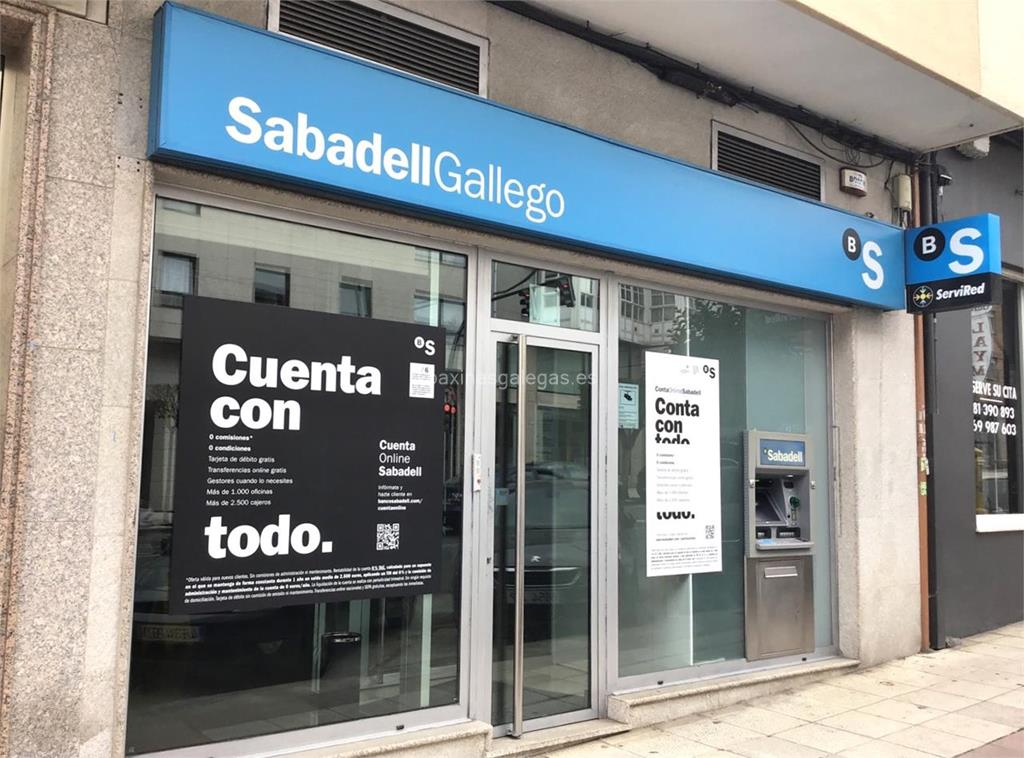 Banco sabadell gallego nar n for Horario oficinas sabadell