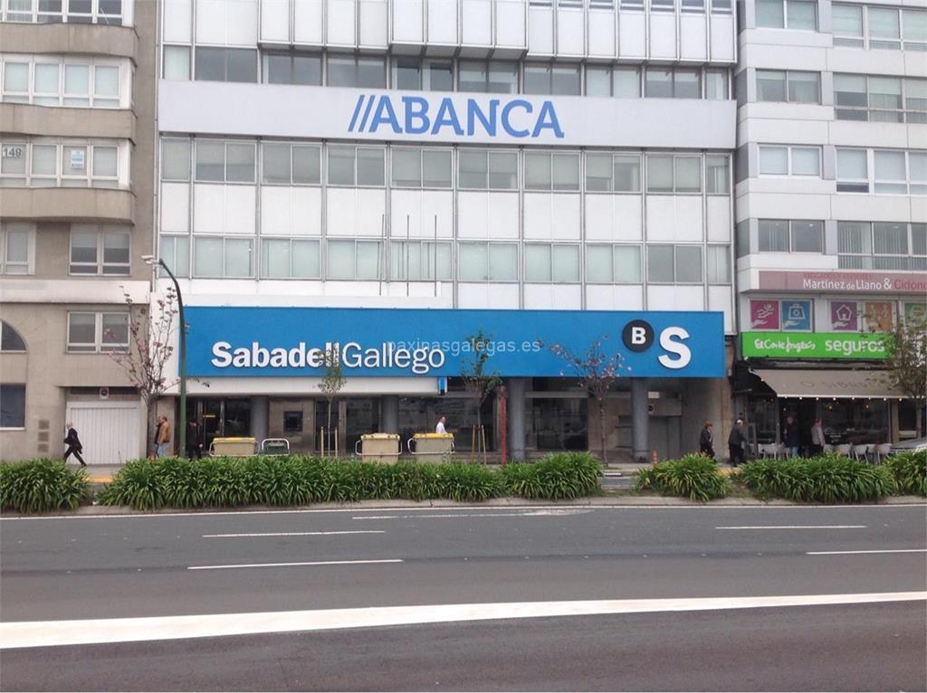 Banco sabadell gallego a coru a avda linares rivas 30 for Oficinas sabadell alicante