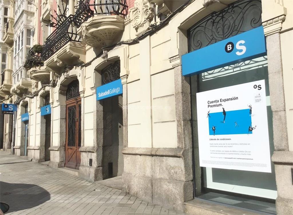 Banco sabadell gallego a coru a ferrol 8 for Horario oficinas sabadell