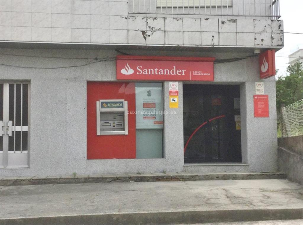 Banco santander agencia soutomaior for Cajeros automaticos banco santander