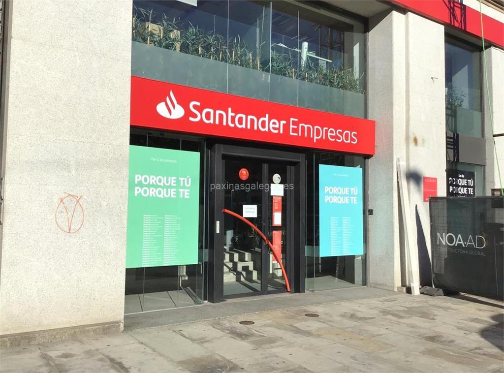 Banco santander empresas a coru a cant n peque o 15 17 for Horario oficinas banco santander barcelona