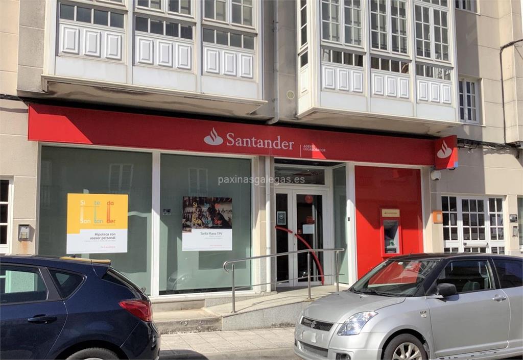 Banco santander carnota for Horario de oficina santander
