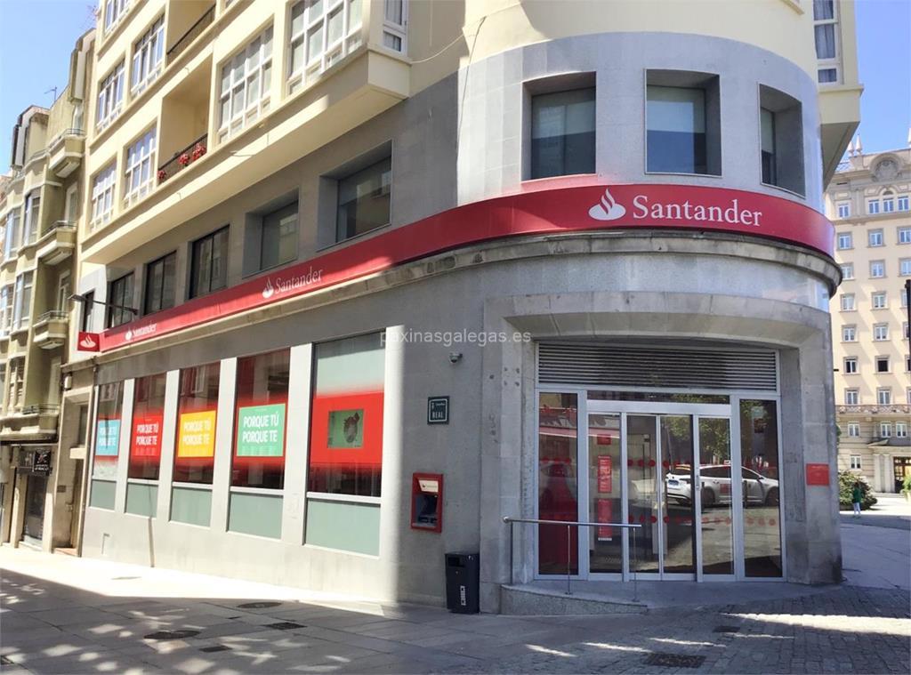 Banco santander ferrol real 2 for Horario de oficina santander
