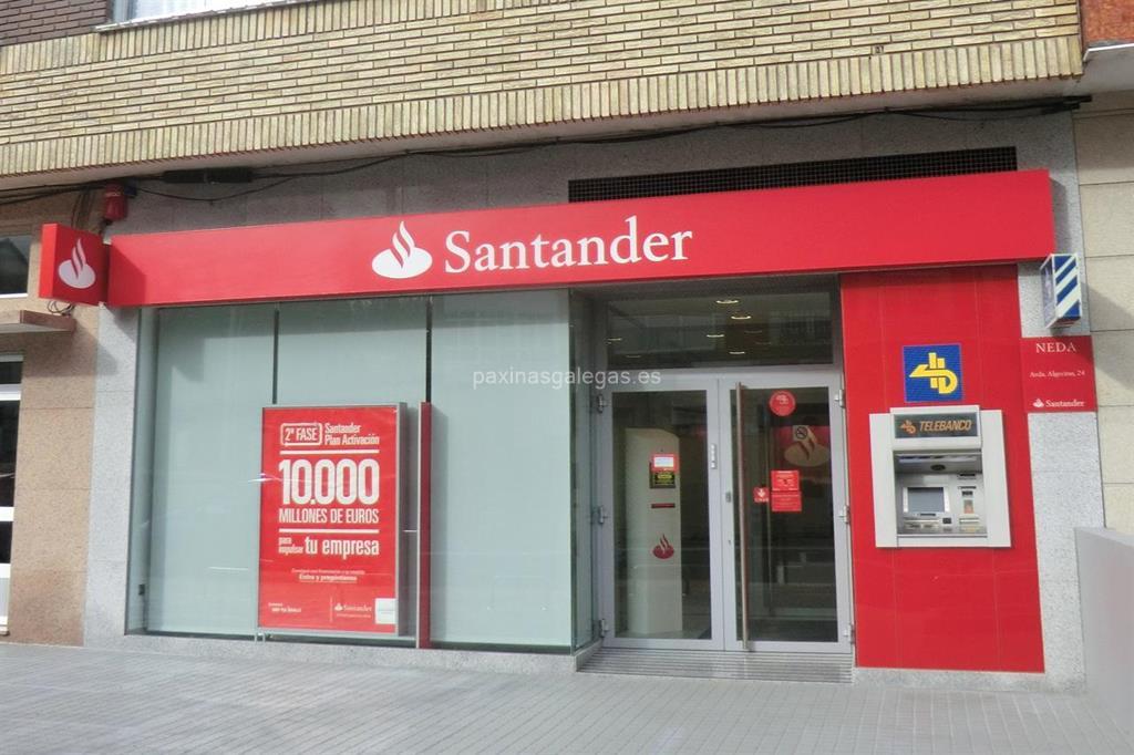 Banco santander neda for Horario oficinas banco santander barcelona
