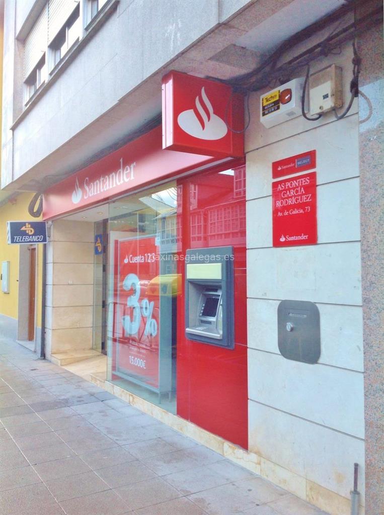 Banco santander as pontes for Cajeros automaticos banco santander