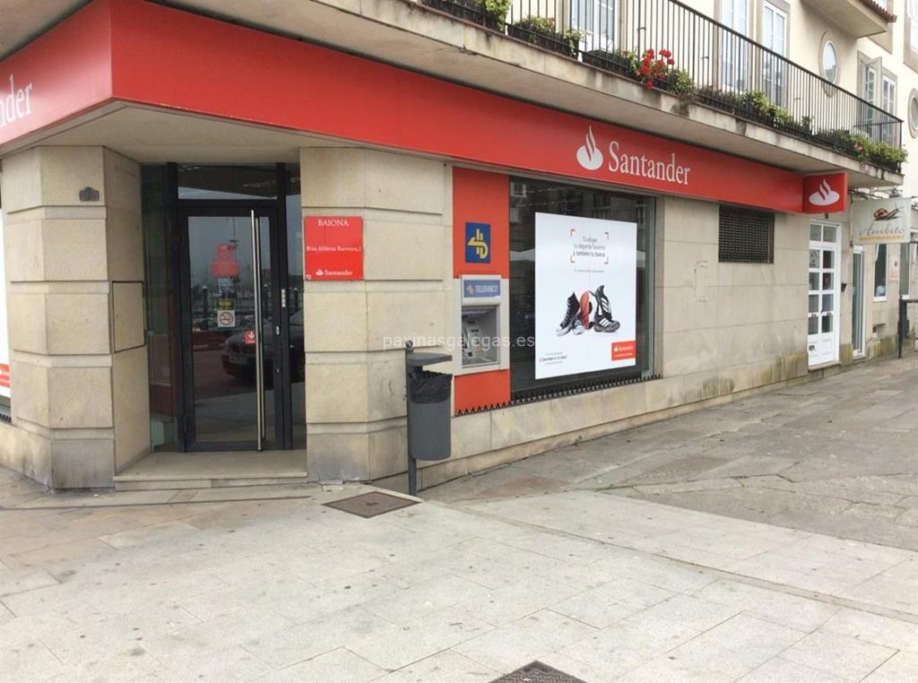 Banco santander baiona for Cajeros automaticos banco santander