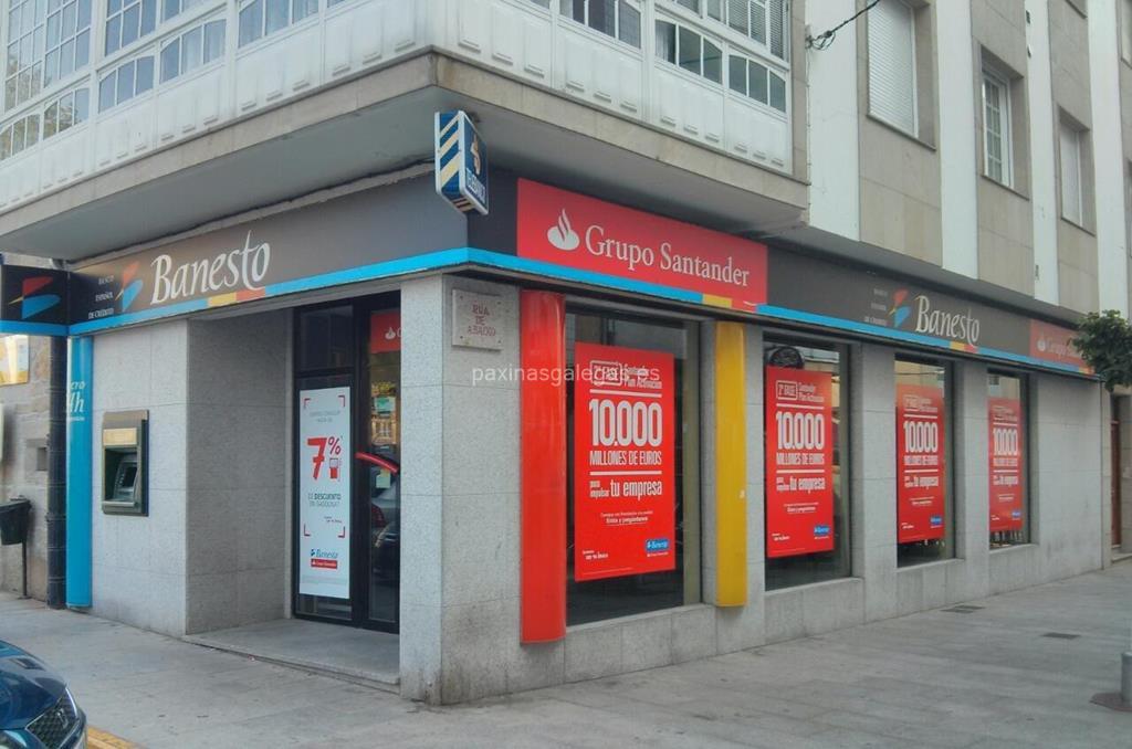 Banco santander rianxo for Horario de oficina santander