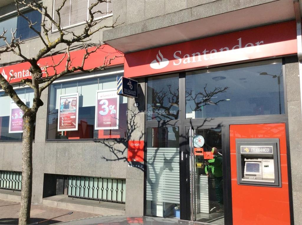 Banco santander cangas for Horario de oficina santander