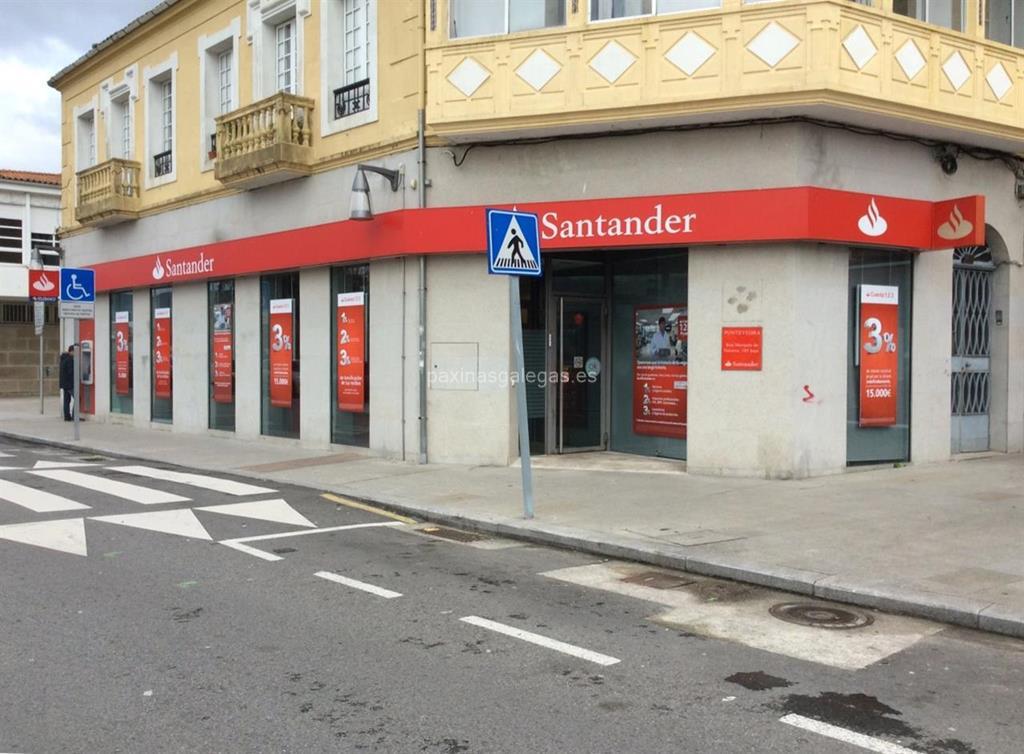 Banco santander pontevedra marqu s de valterra 105 for Horario oficinas banco santander