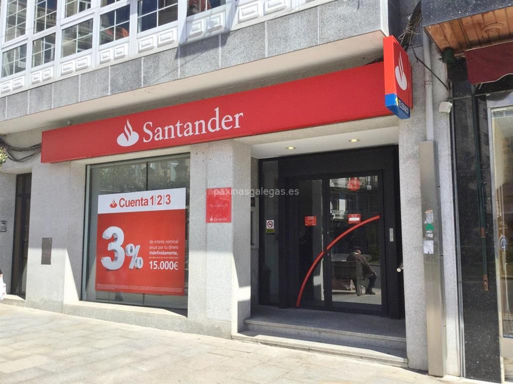 Banco santander a estrada for Horario oficinas banco santander barcelona