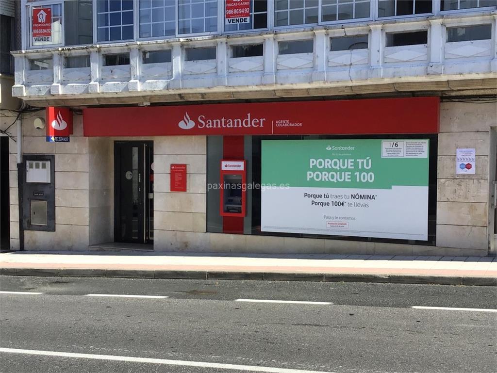 Banco santander cotobade for Cajeros automaticos banco santander