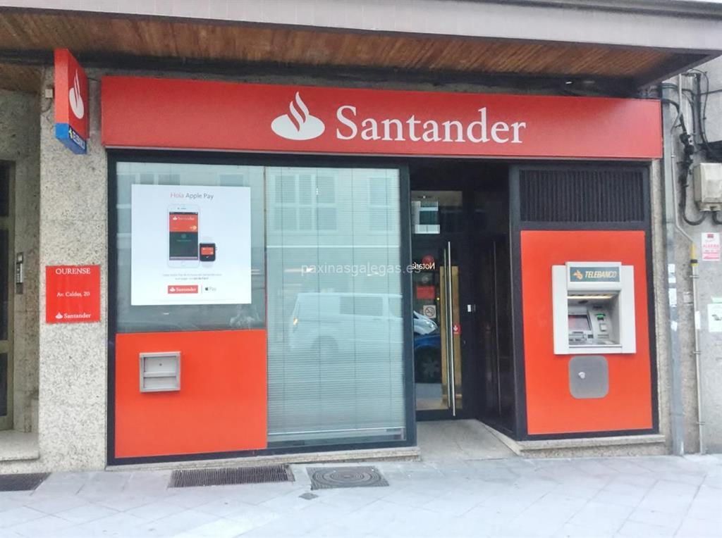 Banco santander ourense avda caldas 20 for Buscador de oficinas santander