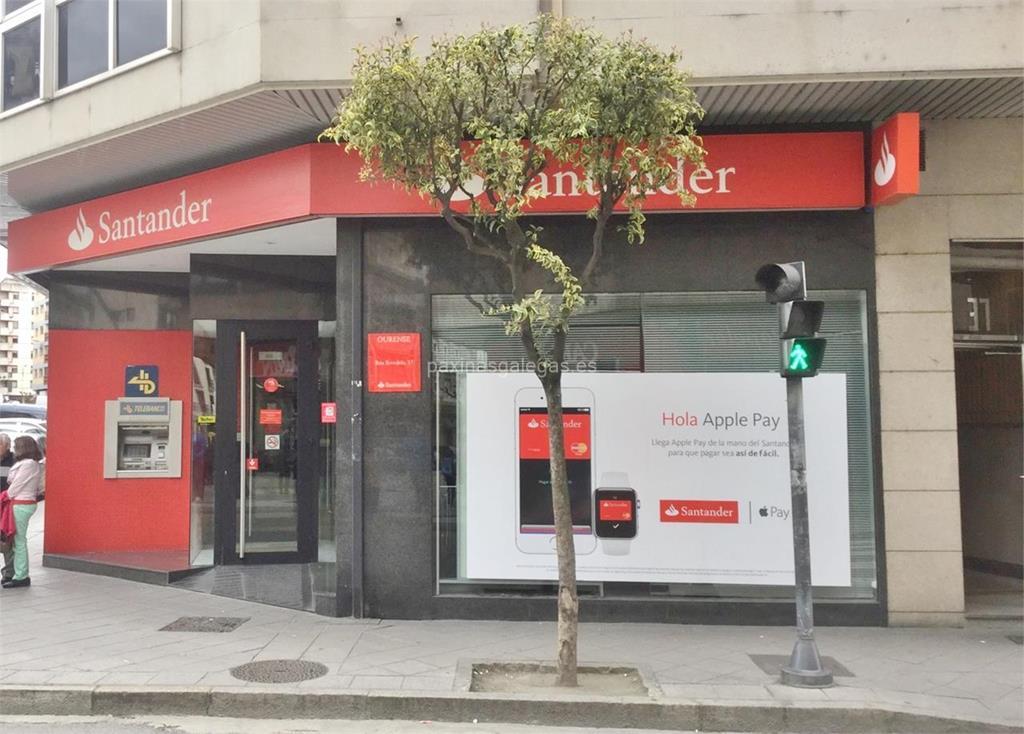 Banco santander ourense ervedelo 37 for Horario de oficina santander