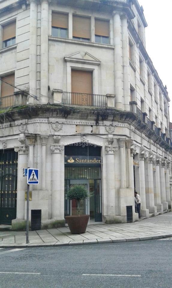 Banco santander ribadavia for Cajeros automaticos banco santander