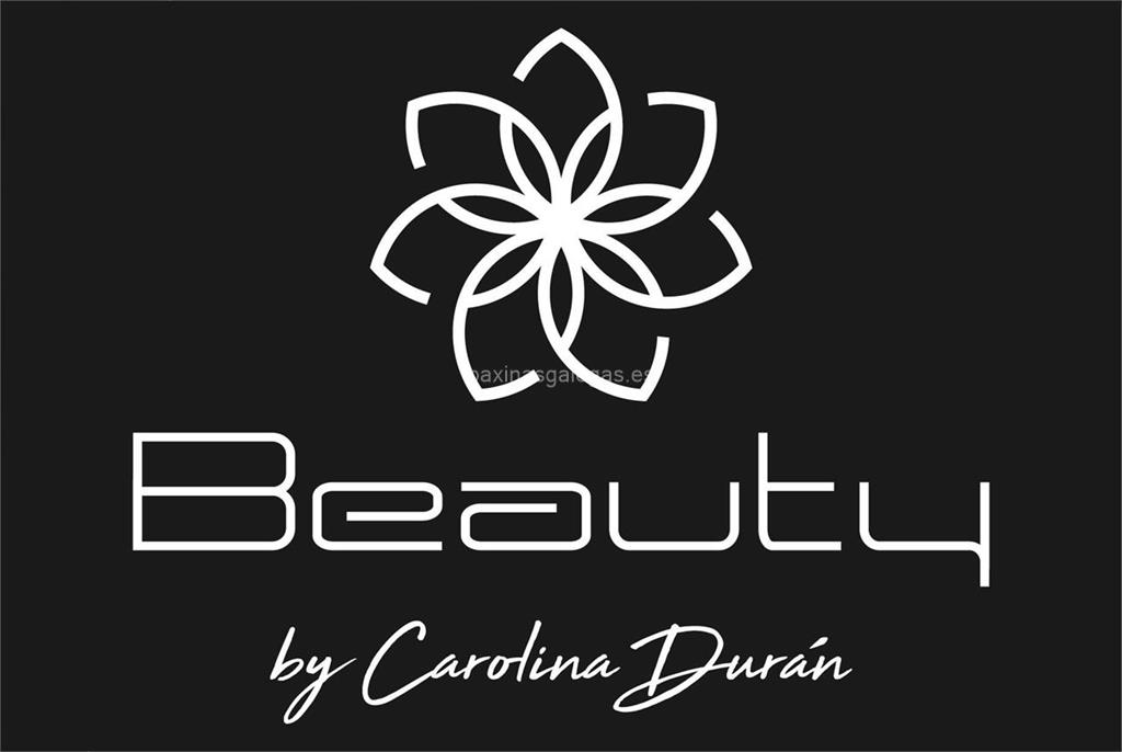 logotipo Beauty Estudio de Belleza by Carolina Durán (Wherteimar)