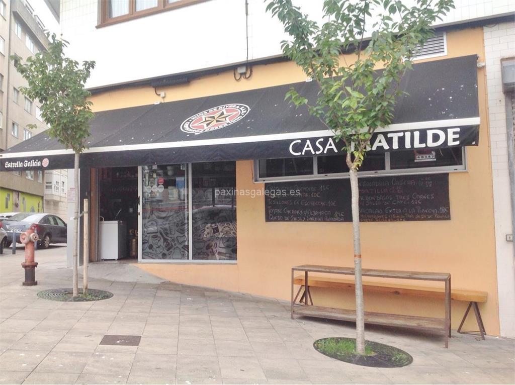 Mesón Casa Matilde En A Coruña