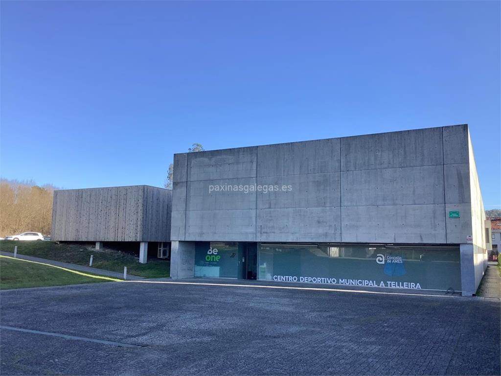 Centro deportivo a telleira ames for Piscina a telleira
