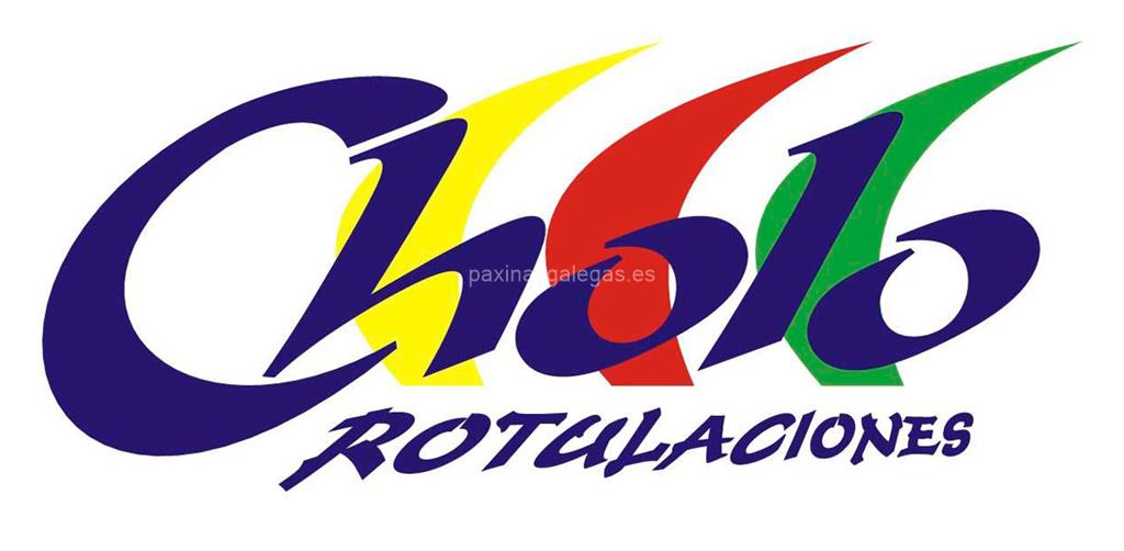 logotipo Cholo Rotulaciones (3M)