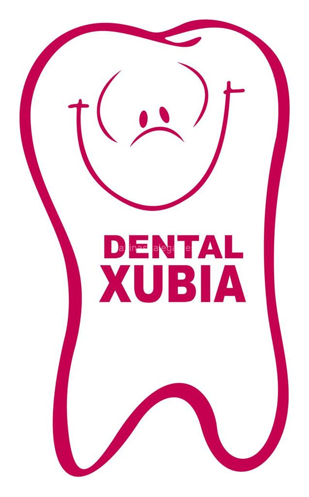 logotipo Dental Xubia