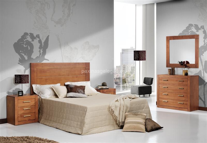 Grupo doble d sarria for Color paredes muebles cerezo