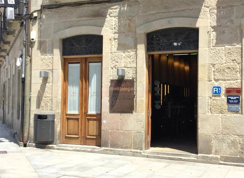 La casa de las 5 puertas pontevedra for 5 puertas pontevedra