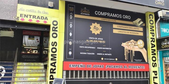 3d890bdca1f7 Compraventa de Oro y Plata La Milla de Oro A Coruña