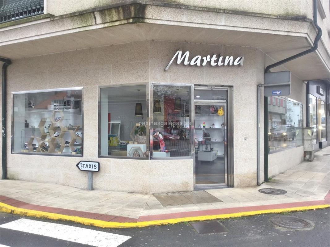 7a1666ba9fe Zapatería Martina. Número de teléfono, calle, web, correo, horario y más  información de Martina en Caldas de Reis. Zapatería señora y caballero.