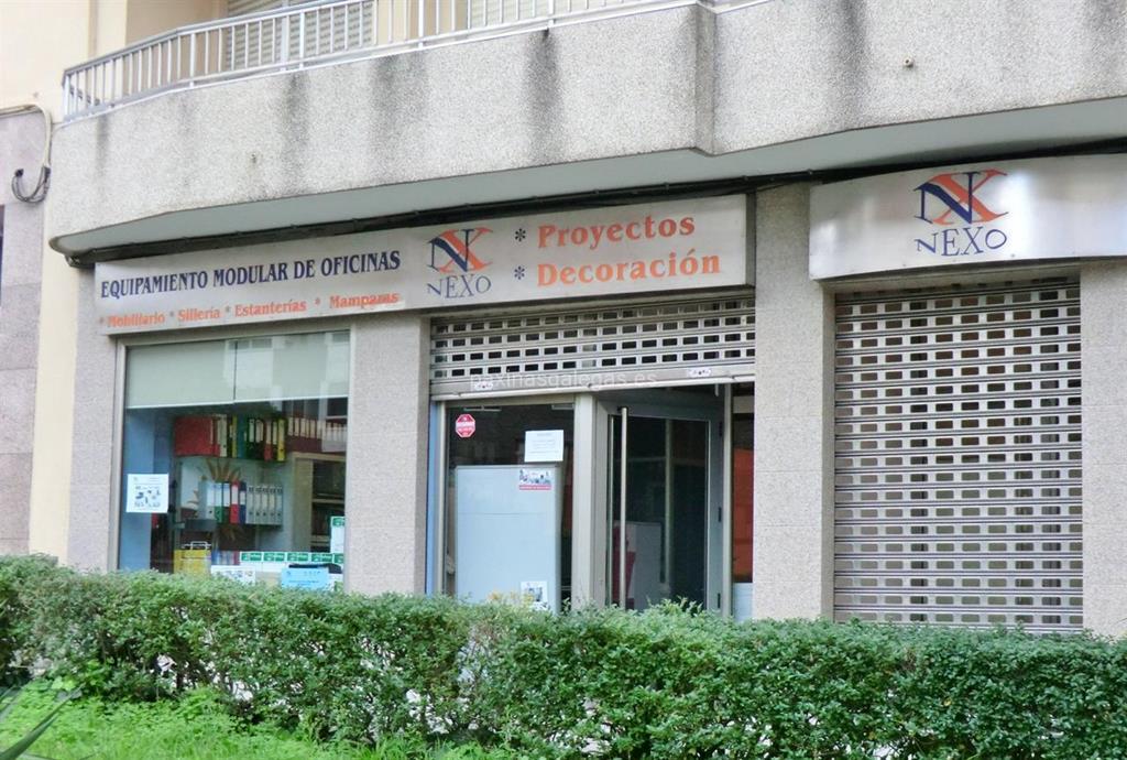 Nexo equipamiento modular oficinas vigo for Alquiler de oficinas en vigo