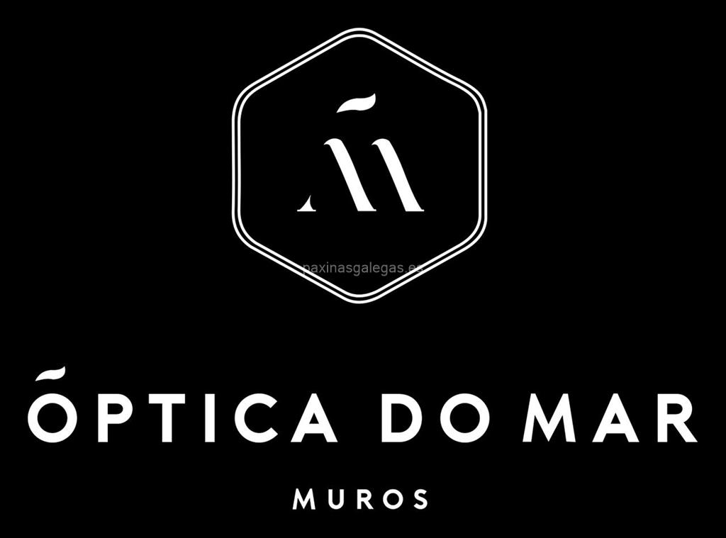 logotipo Óptica do Mar