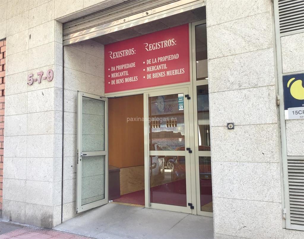 Registro de Bienes Muebles - A Coruña