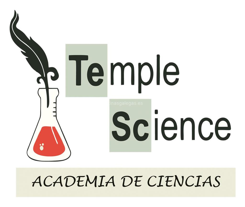 logotipo Temple Science
