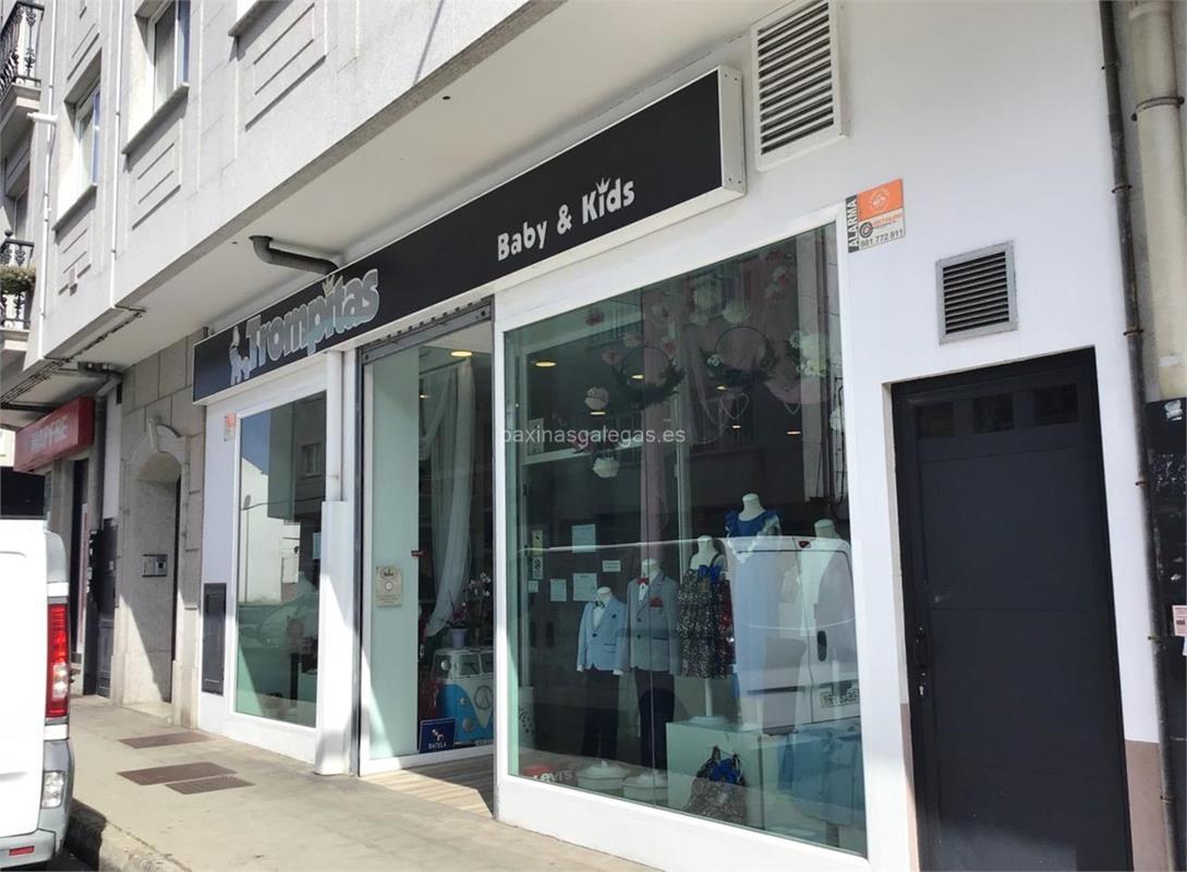 ada45ab6 Número de teléfono, calle, web, correo, horario y más información de  Trompitas en Narón. Boutique de ropa, calzado y complementos infantiles de  0 a 16 años.